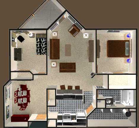 Keewatin Estates - Floor Plan B