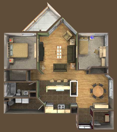 Keewatin Estates - Floor Plan D