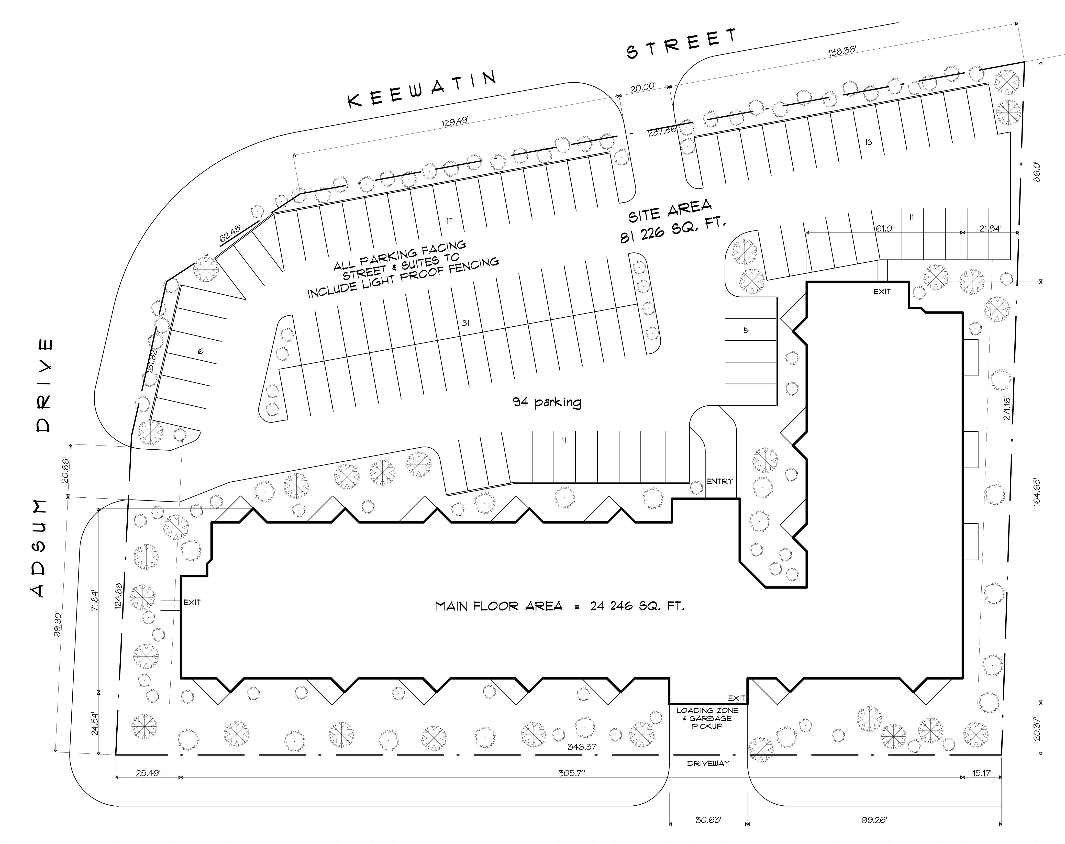 Keewatin Estates - Site Plan