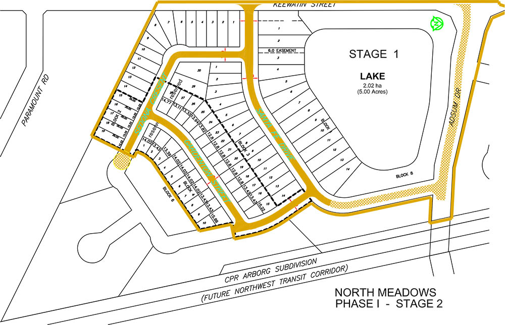 North Meadows - Site Plan
