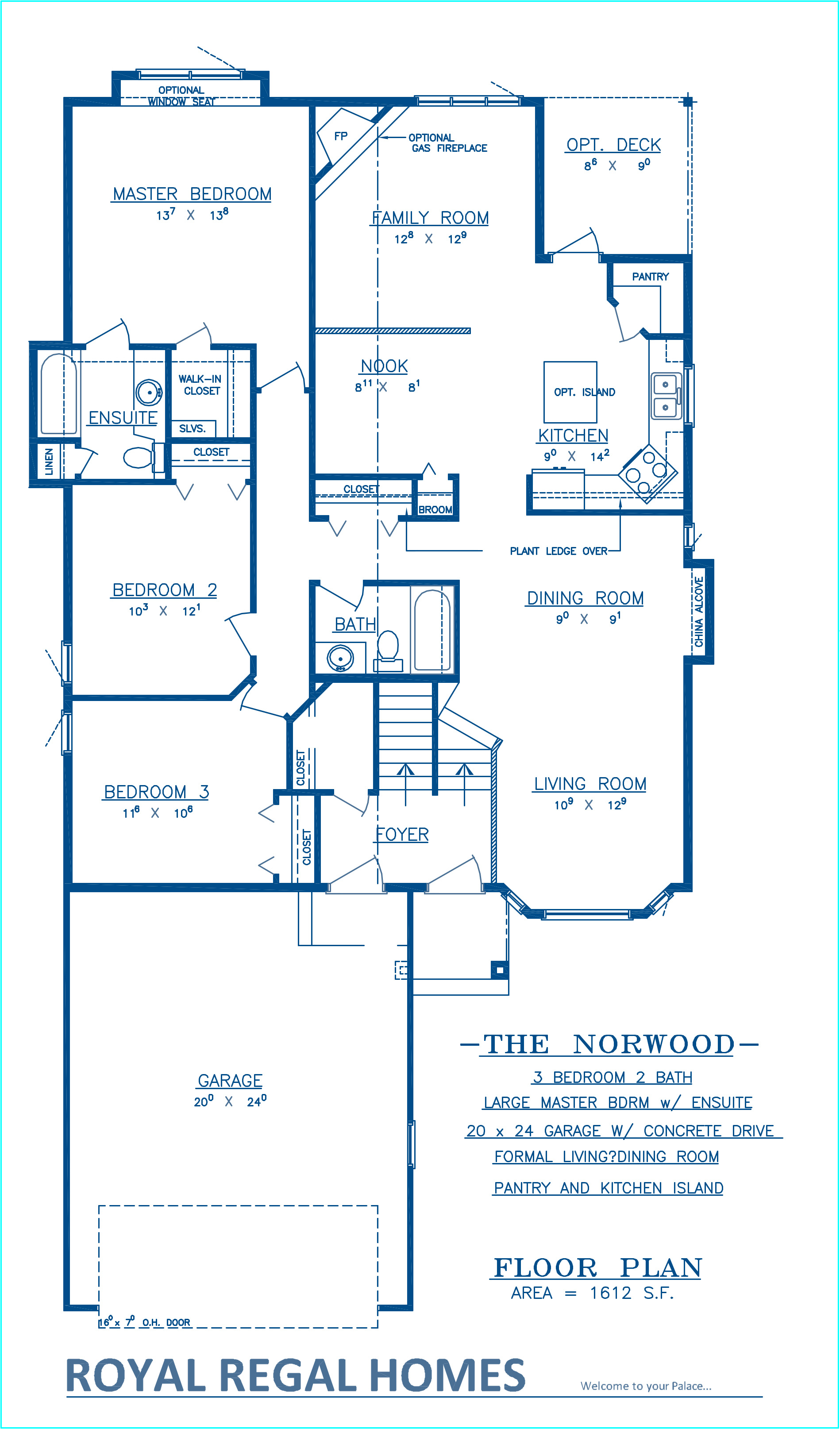 Norwood Floor Plan