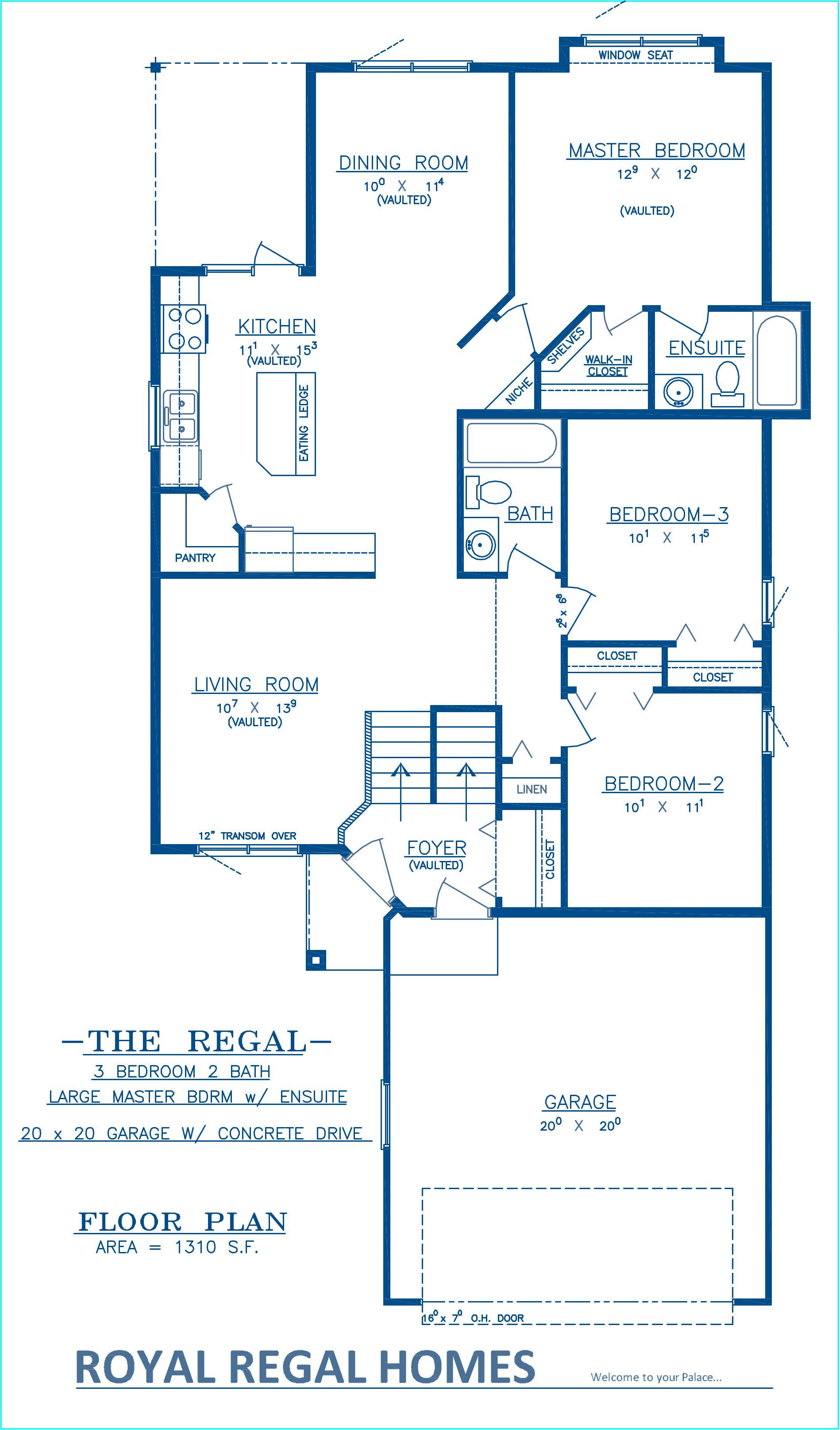 Regal - Floor Plan