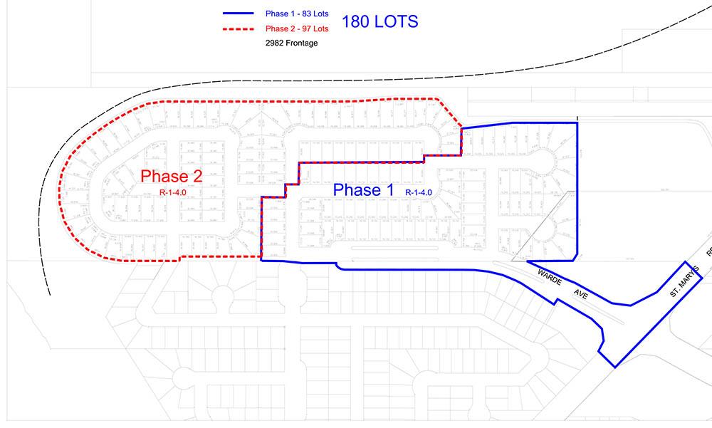 Van Hull Estates - Phases