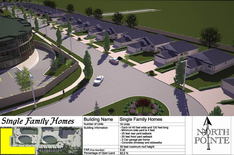 North Pointe - Single Family Homes
