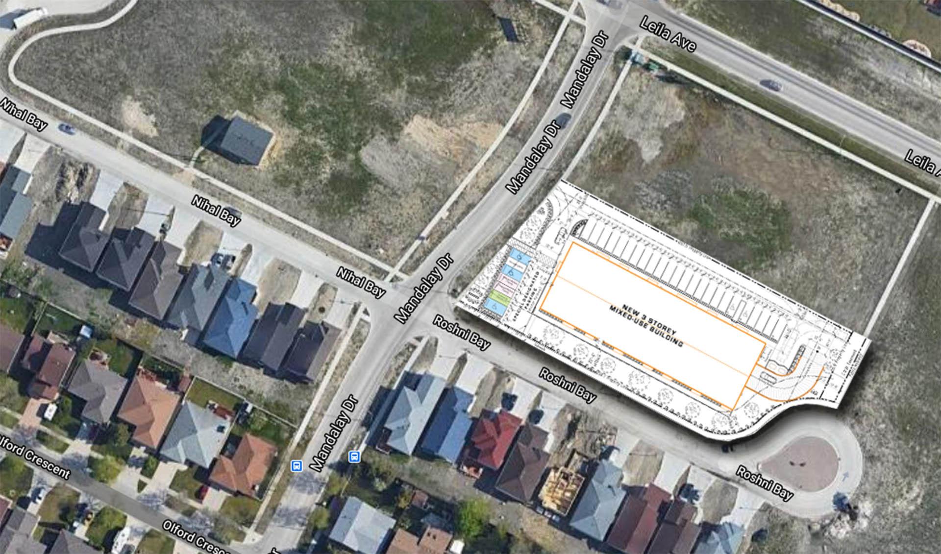 1760 Leila Google Map