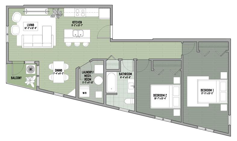 425 Main - the Sage - floor plan